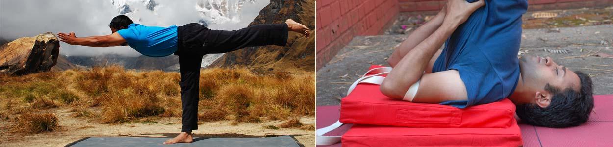 Vinay Siddaiah, Yoga teacher in Bangalore