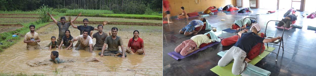 Yoga retreat in Bangalore by Yogavijnana led by Vinay Siddaiah