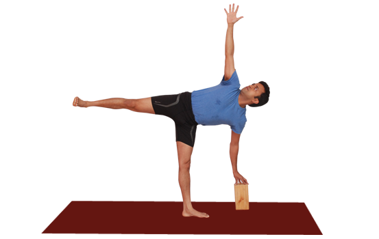 Yoga blocks in Bangalore. Demo by Vinay Siddaiah