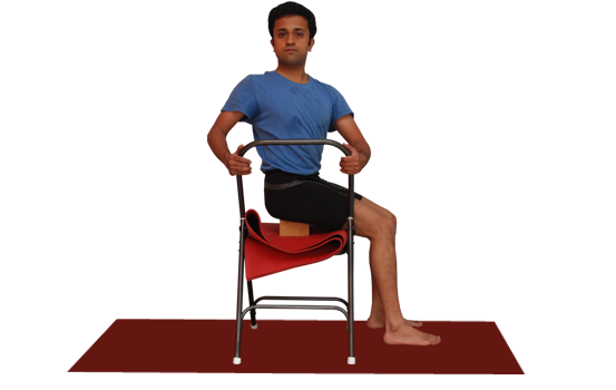 Buy Yoga chair online. Demo by Vinay Siddaiah