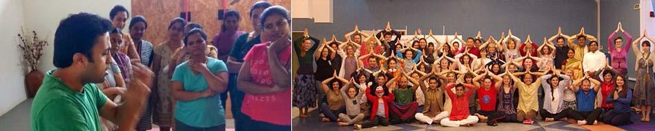 Yoga workshop in Bangalore