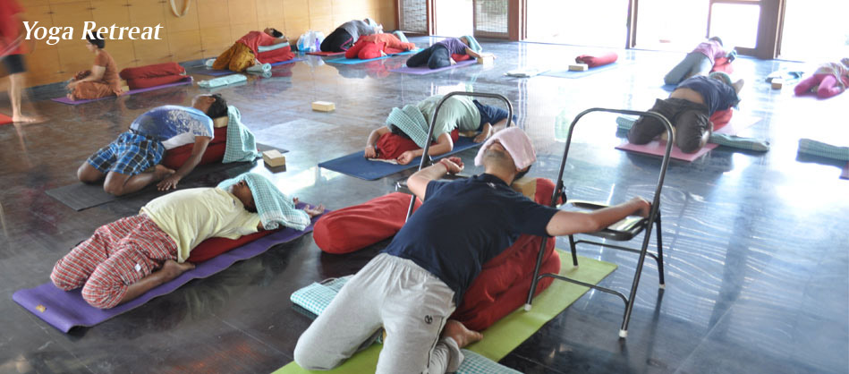 Yoga retreat near Bangalore by Vinay Siddaiah