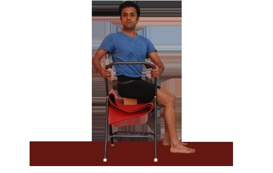 Buy Yoga chair online. Demo by Vinay Siddaiah