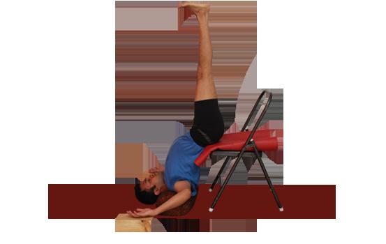 Buy Yoga chair and bricks online. Demo by Vinay Siddaiah.