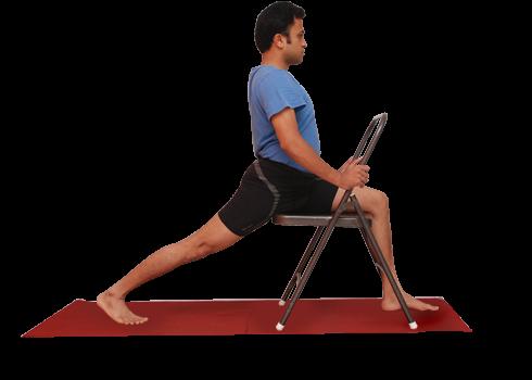 Yoga postures demo by Vinay Siddaiah