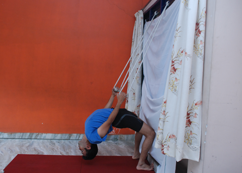 Yoga wall ropes in Bangalore
