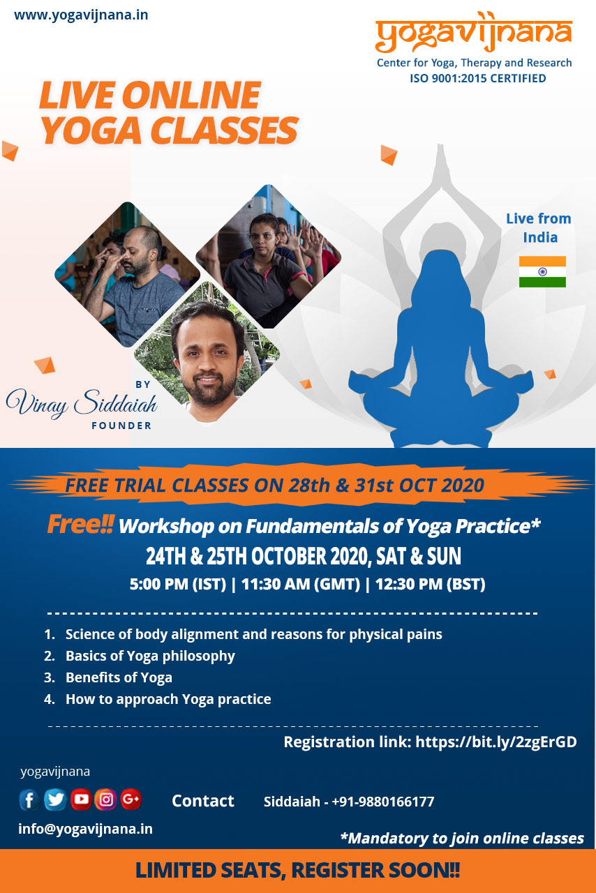 Basic of Yoga workshop