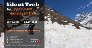 Silent trek in the himalayas by Yogavijnana