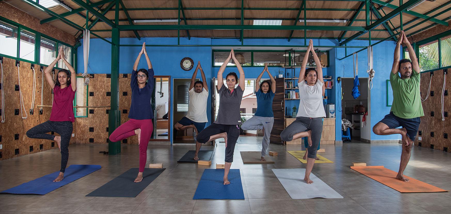 Yoga practice approach