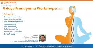 Pranayama workshop by Vinay Siddaiah